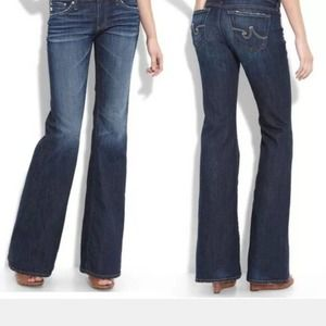 Adriano Goldschmeid The Belle Flare Blue Jeans 27R